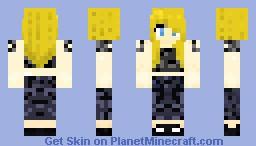 Tris Prior - Divergent- Ley_ah Minecraft Skin