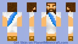 Jesus Minecraft Skin