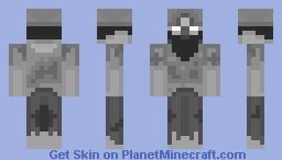 Dead Miner Minecraft Skin