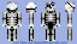undead skeleton Minecraft Skin