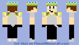 king me Minecraft Skin