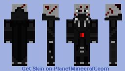Darth Vader (Without Helmet) Minecraft Skin