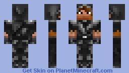 Night Armor (Hooded) Minecraft Skin