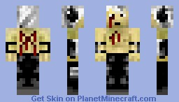 Dark mage (wounded) Minecraft Skin