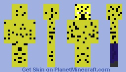 Cheetah Minecraft Skin