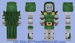 Doctor Doom Minecraft Skin