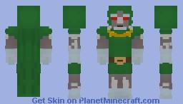 Doctor Doomsday - Victor Von Doom - Amalgam Comics Minecraft Skin