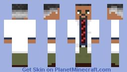 Dr. Eli Vance Minecraft Skin