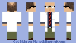 Dr. Isaac Kleiner Minecraft Skin