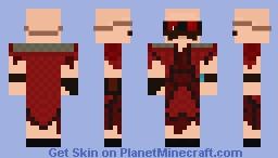 Dr Robotnik - Tear Pilot Suit Minecraft Skin