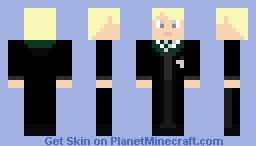 Draco Malfoy Minecraft Skin