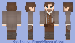 WW1 Officer Inspired Man Minecraft Skin
