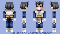 Vegeta - Dragon Ball Z - Minecraft Skin