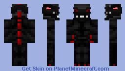 Flame Monster Minecraft Skin