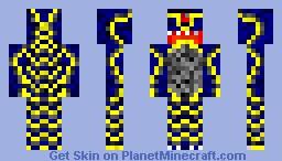 Dragon Yellow Minecraft Skin