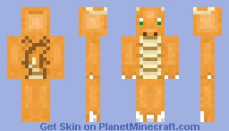 Dragonite Minecraft Skin