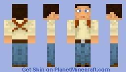 Nathan Drake Minecraft Skin