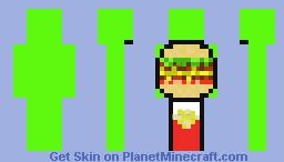 DreamBurger Minecraft Skin