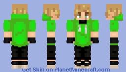 D r e a m: R e v e a l e d - DreamSMP Minecraft Skin