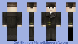 Russian in a coat Minecraft Skin