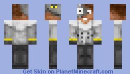 Dr. N. Gin - Crash Bandicoot Boss Skin Series Minecraft Skin