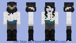 Fancy Drow Minecraft Skin