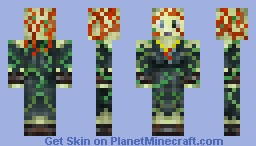 The Drowned Lady [Moderately Poetic Backstory] Minecraft Skin