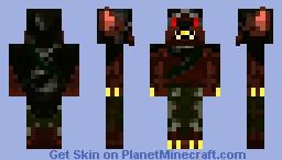 BloodMoon Druid Minecraft Skin