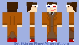The Doctor - David Tennant/Tenth Doctor Minecraft Skin