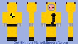 Hazard/Nuclear Suit Minecraft Skin