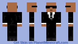 MIB (Men In Black) - Will Smith Minecraft Skin