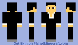 Dude in a suit Minecraft Skin