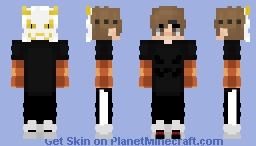 Dude with Mask Minecraft Skin