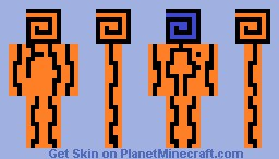 Thing... I have no idea how to describe it. Minecraft Skin