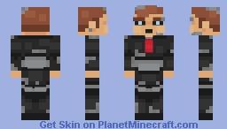 Ventriloquist Robot Minecraft Skin