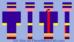 Dungeon defenders-apprentice Minecraft Skin