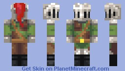 Knight Dunster of Soulhaven Minecraft Skin