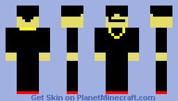 Dude with Sunglasses Minecraft Skin
