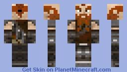 Dwarf King Scrumble Fistibuns Minecraft Skin