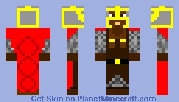 dwarf warrior Minecraft Skin