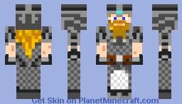 Dwarf Knight Minecraft Skin