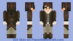 Colonial Man Minecraft Skin
