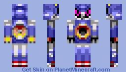 Hyper Metal Sonic In Sonic The Hedgehog Movie 2020 Minecraft Skin