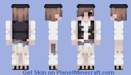~Croatian Folk Costume~ CE Minecraft Skin