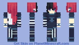 spineless Minecraft Skin