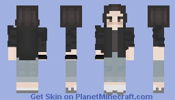 El (from Stranger Things) Minecraft Skin