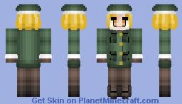 Paul Bunyan ポール・バニヤン Fate/GrandOrder Minecraft Skin