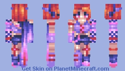 Mirai - Updated Persona Minecraft Skin