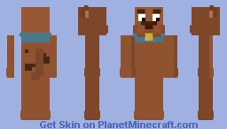 Scooby Doo Minecraft Skin