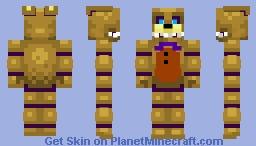 Into the pit spring Bonnie 3 Minecraft Skin